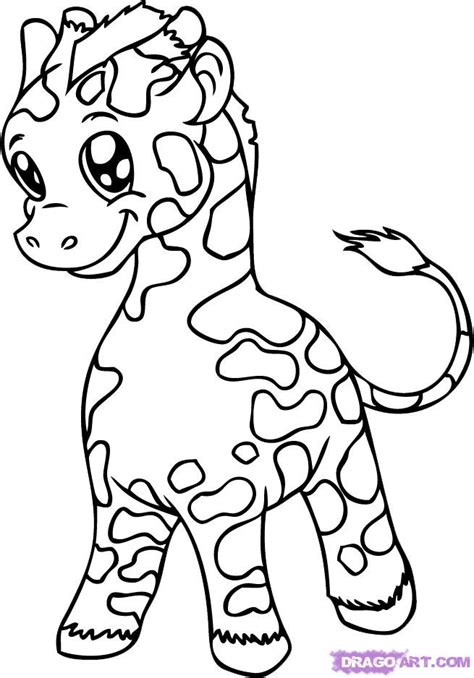 dragoart coloring pages cute animals cute baby animal coloring pages dragoart color bros