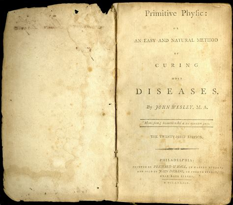 primitive physic or an easy and method of curing most diseases classic reprint books news 171 heritage research center news 171 page 4