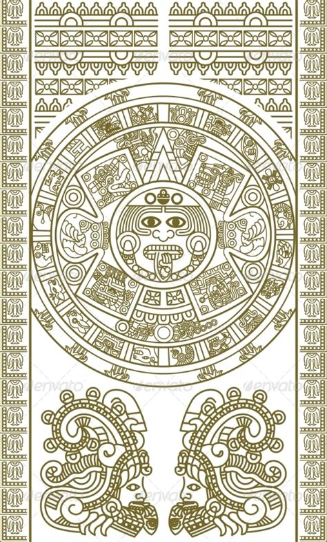 aztec calendar coloring page books worth reading abstract coloring pages aztec pattern black and white