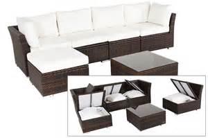 gartenmöbel lounge sofa rattan funvit altbau einrichtung