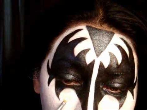 kiss makeup tutorial demon kiss series gene simmons the demon make up tutorial pt 2