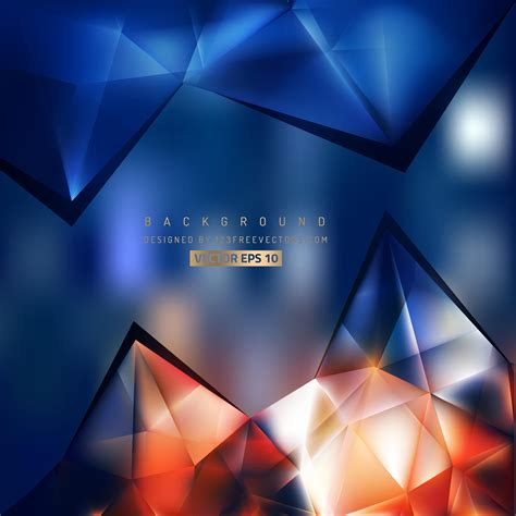 abstract navy blue hexagon pattern background design 123freevectors dark blue and orange backgrounds background ideas