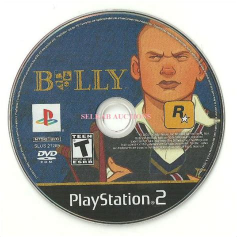 Disk Ps2 bully play station 2 disc ps2 ntsc used no