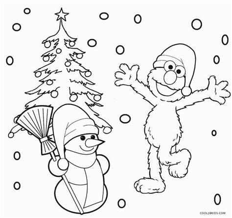 elmo christmas coloring pages murderthestout