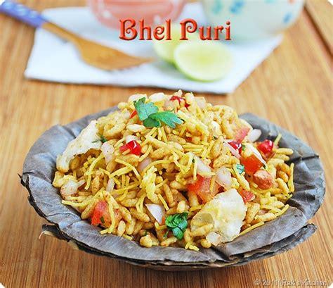 bhel puri recipe papdi recipe raks kitchen