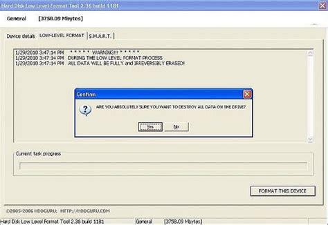 format hard drive zero fill best low level format tool software easeus