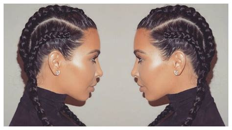 how to do two french braids wit weave 4 cornrow french braids short hair
