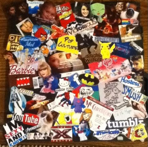 collage pop american popular culture collage www imgkid the