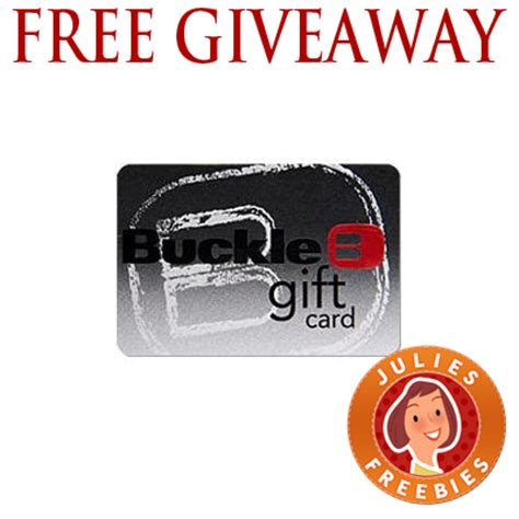 Win Gift Cards Free - free buckle denim gift card giveaway 100 winners julie s freebies