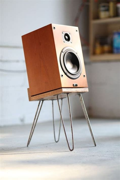 bench speakers bench speakers mount your speakers in style with diy speaker stands kincrome evolve