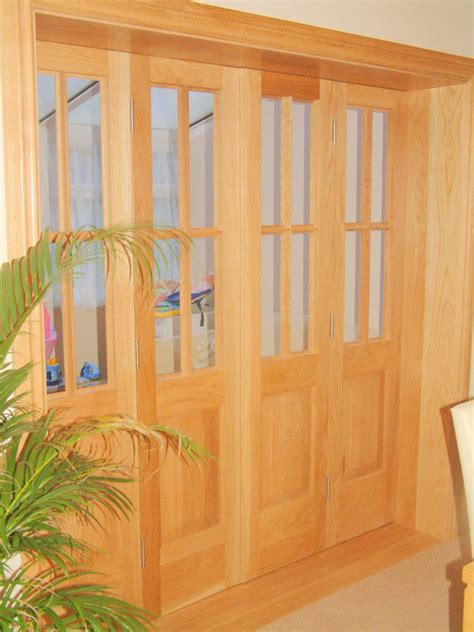 folding wooden doors interior folding interior door wood