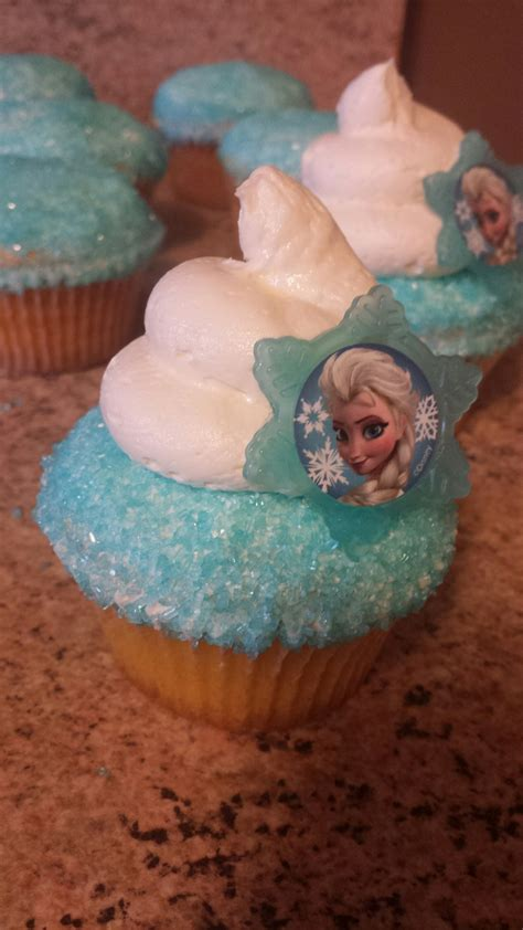 disney frozen cupcakes on pinterest disneys frozen inspired cupcake thanks for looking