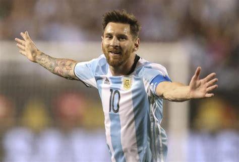 velocidad de messi 2016 messi anota un hat trick que lleva a argentina a los