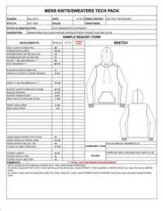 tech pack template fashion apparel tech pack templates on