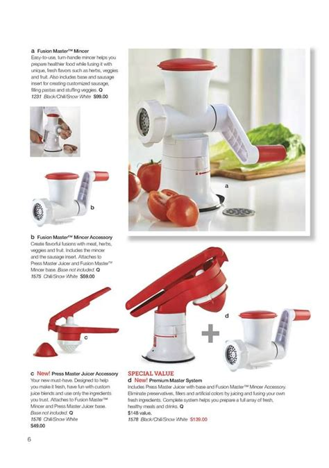 Tupperware Fusion Master Mincer make delicious dishes with the help of tupperware s fusion