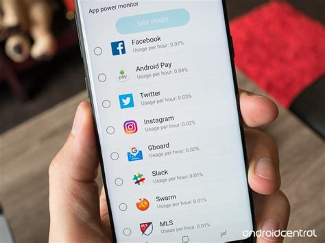 How To Check If Apps Are Running In Background Android How To Fix Galaxy S8 Battery Problems Android Central