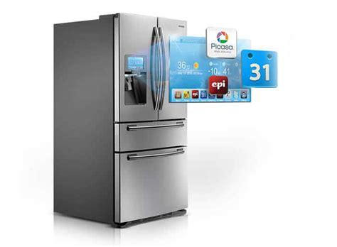 cuisine connect馥 frigo connecte table de cuisine