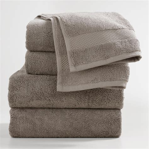 bath towels gray bath towel collection world market