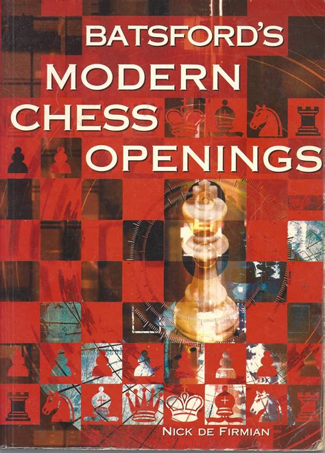 batsford s modern chess openings book on chess