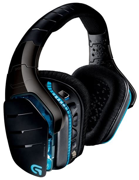 Headset Gaming logitech g933 artemis spectrum wireless 7 1 surround gaming headset best gaming headsets