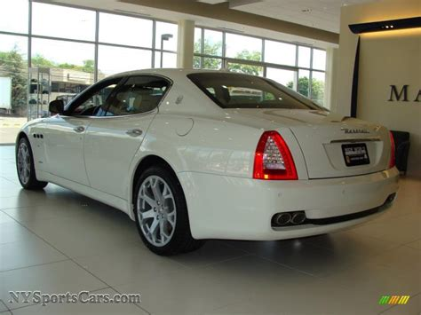 White Maserati Quattroporte 2010 Maserati Quattroporte In White Photo 8 051950 Nysportscars Cars For Sale In New York