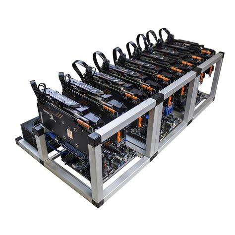 Bitcoin Mining Gpu - coindriller zcash gpu mining rig 6750 sol s 324 mh s 9x