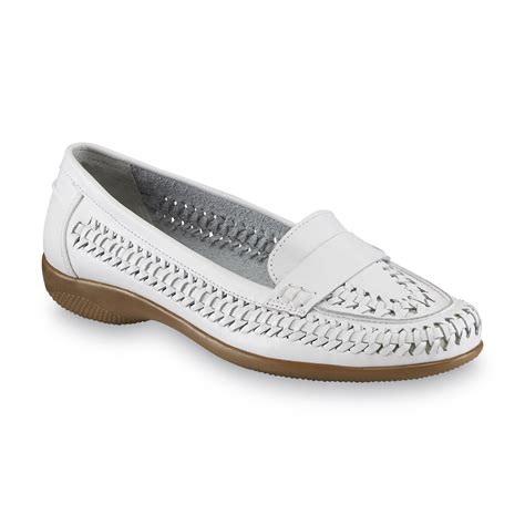 i love my comfort shoes i love comfort women s leather mabel white loafer shoes