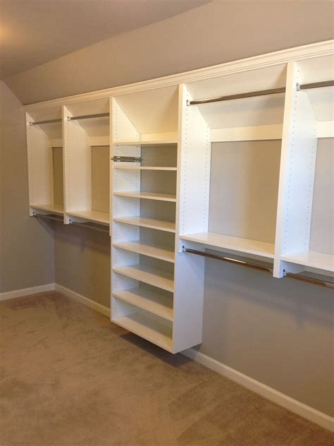 custom shelving ideas how to build custom closet drawers the build basic closet