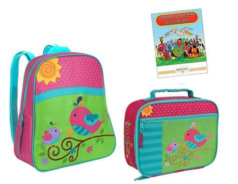 Set Origina Kid stephen joseph gogo go backpack lunch box set toddler school preschool bag ebay