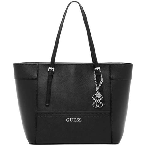 Tas Guess Delaney Mini Original Bag guess delaney small classic tote 77 liked on polyvore featuring bags handbags tote bags