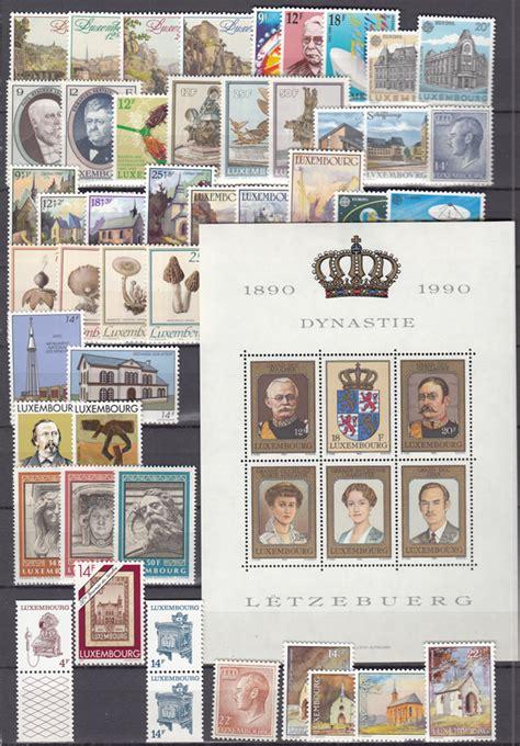 Brief Schweiz Luxemburg Luxemburg Jahrgang 1990 1991 Postfrisch Komplett G 252 Nstig