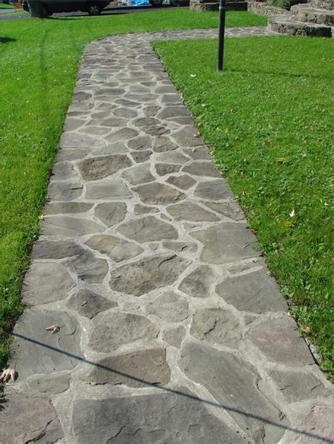 landscaping in stone and pavers landscaping pinterest stone walkway walkways and gardens