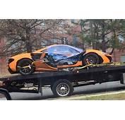 McLaren P1 Suffers Serious Crash In Washington DC