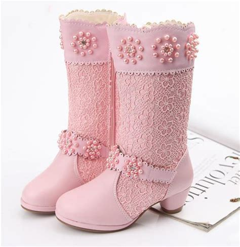 Sepatu Anak Perempuan Cantik Por 3386 moda para beb 233 s 187 botas largas para ni 241 as 5