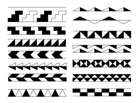 frieze pattern history mirror curves