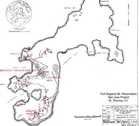 san jose island map water island history the history of water island