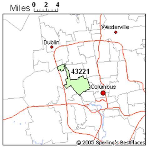 zip code map upper arlington ohio upper arlington zip 43221 ohio rankings