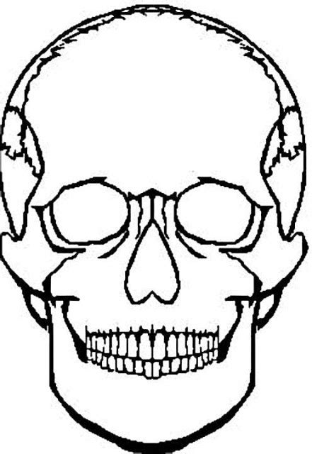 coloring pages for girls skull coloring pages