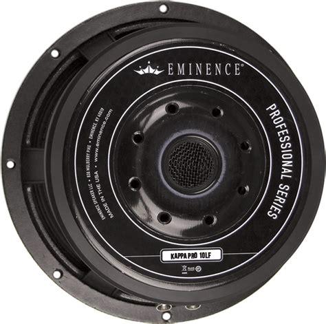 Speaker Eminence Speaker Eminence 174 Pro 10 Quot Kappa Pro 10lf 600 Watts Lified Parts
