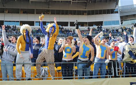 best college student sections pittsburgh student sections in college football espn