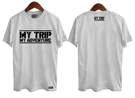 Grosir Baju Kaos Tshirt T Shirt Airwalk Abu Abu Update model kaos my trip my adventure kini sedang booming