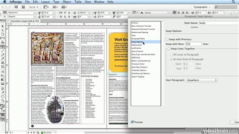 indesign tutorials hindi adobe indesign cs6 tutorial 36 hyphenation settings and