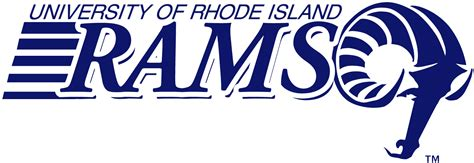Embelem Logo Ri rhode island rams wordmark logo ncaa division i n r