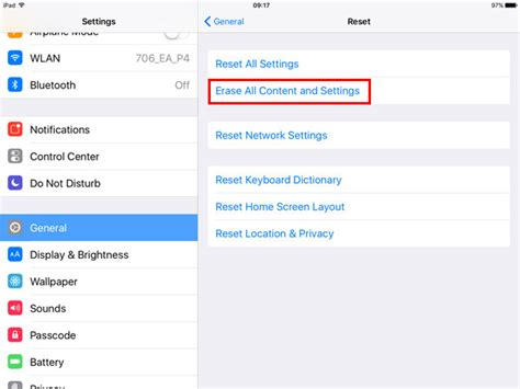 resetting wifi ipad how to reset iphone