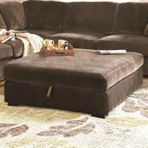 Oversized Storage Ottoman Coaster Furniture 500704 Luka Casual Oversized Storage Ottoman In Coffee Bean