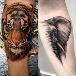 wild animal tattoo designs 30 best tattoos images on animal tattoos