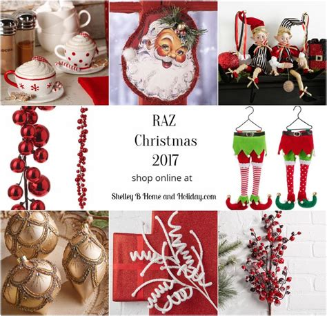 62 best raz 2017 christmas ornaments and decorations