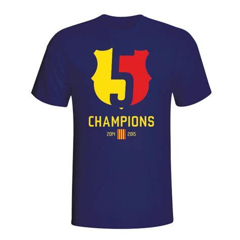 Tshirt Barcelona Navy barcelona 2015 chions t shirt navy tshirtnavykids tshirtnavy uksoccershop