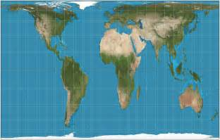 Undistorted World Map by Description Gall Peters Projection Sw Jpg