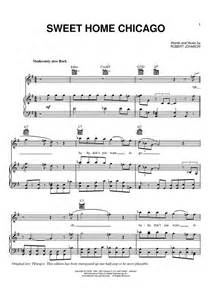 sweet home sheets sweet home chicago sheet for piano and more onlinesheetmusic